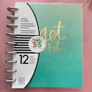 The Happy Planner Fitness Planner!!! NEW